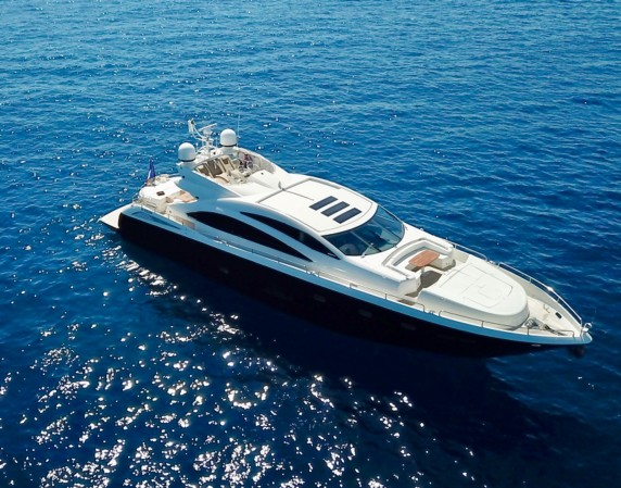 MOJITO -Sunseeker available Cannes, Antibes, Nice, Monaco, St Tropez, day charters