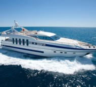 SUPERTOY - 5 cabin motor yacht available on the French Rivieria