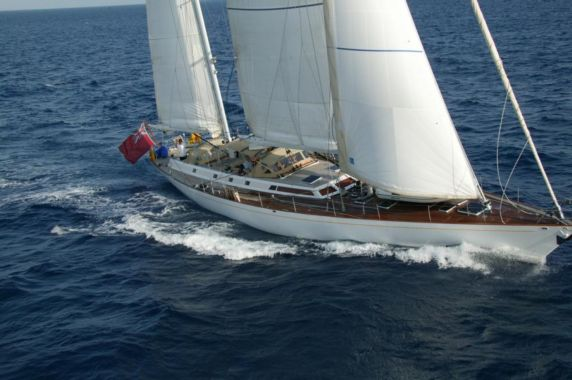 VOLADOR - Classic yacht for charter in Nice, Corsica and Sardinia