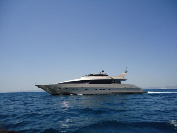 Pandion Yacht for Charter Athens - Paros - Mykonos Greece