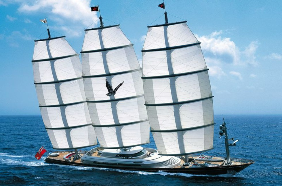 Maltese Falcon Yacht For Charter On The French Riviera