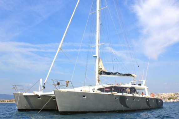 LADY PACA Riviera Event Catamaran - Cannes - 30 Cruising, 18 Sleeping! From 5000E per day