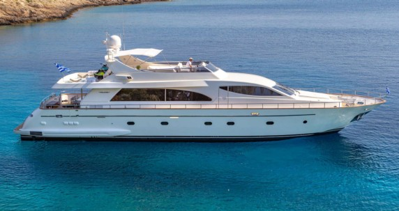EFMARIA for charter in Athens, Poros Greece