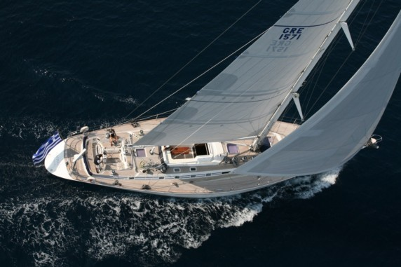 Callisto - Swan 80 for charter in Greece and Greek Islands